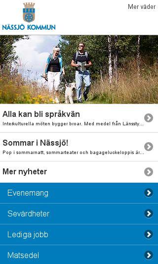 Mobile preview of nassjo.se