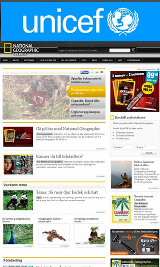 Mobile preview of natgeo.se