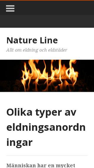 Mobile preview of natureline.se