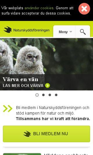 Mobile preview of naturskyddsforeningen.se