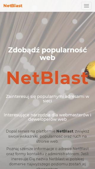 Mobile preview of netblast.pl