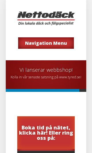 Mobile preview of nettodack.se