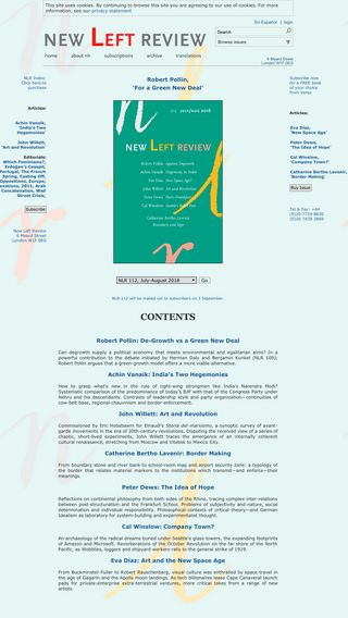 Mobile preview of newleftreview.org