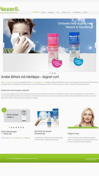 Mobile preview of nezeril.se