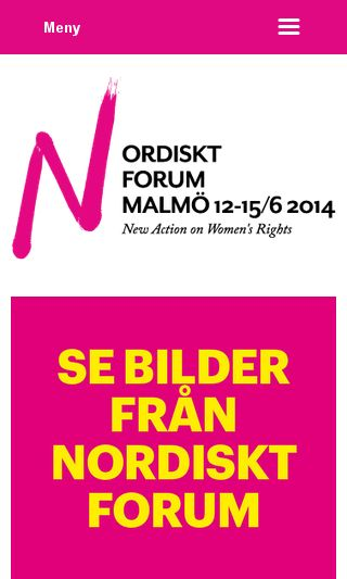 Mobile preview of nf2014.org