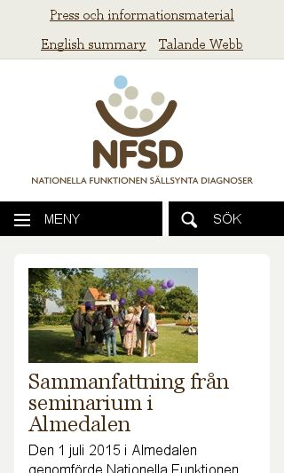 Mobile preview of nfsd.se