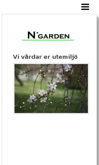 Mobile preview of ngarden.se