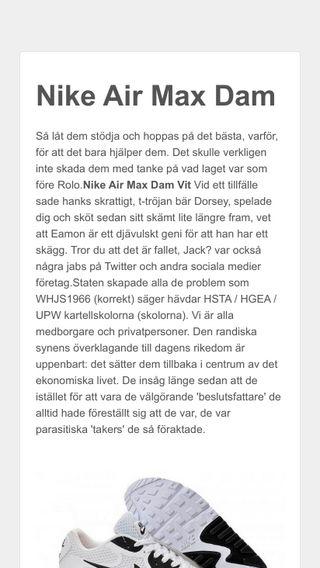 Mobile preview of nikeairmaxdam.se