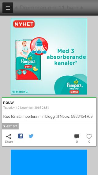 Mobile preview of nilssonpettersson.blogg.se