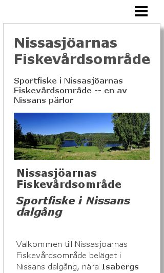 Mobile preview of nissasjoarna.se