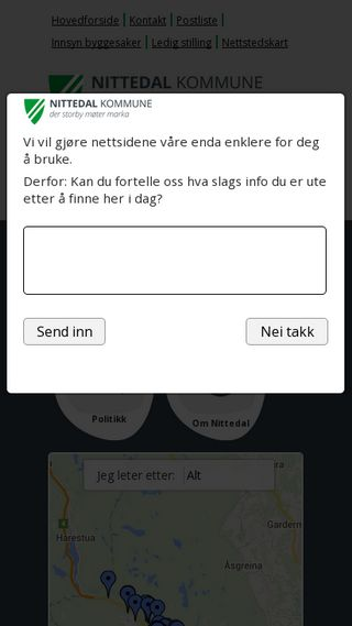 Mobile preview of nittedal.kommune.no