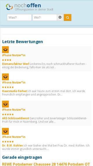 Mobile preview of nochoffen.de