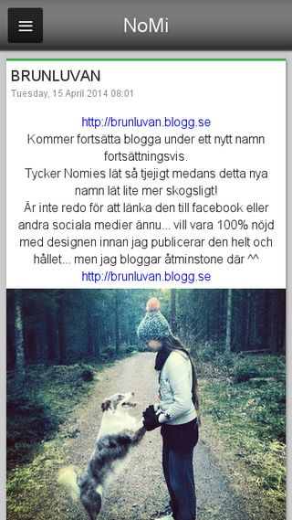 Mobile preview of nomies.blogg.se