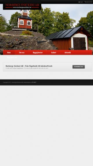 Mobile preview of norbergssnickeri.se