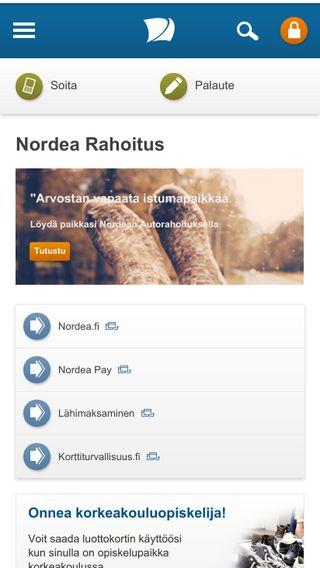 Mobile preview of nordearahoitus.fi