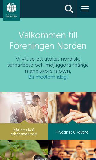 Mobile preview of norden.se