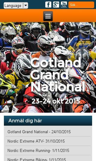 Mobile preview of nordicsportevent.se