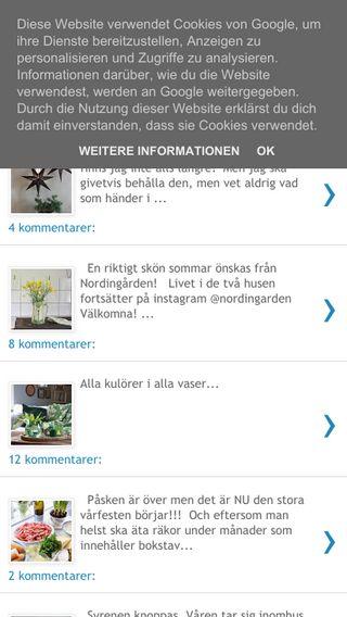 Mobile preview of nordingarden.blogspot.com