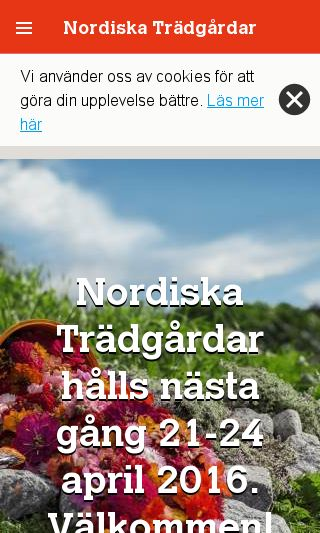 Mobile preview of nordiskatradgardar.se