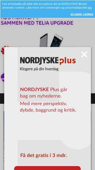 Mobile preview of halsavis.dk