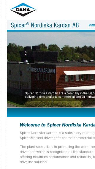 Mobile preview of nordkardan.se