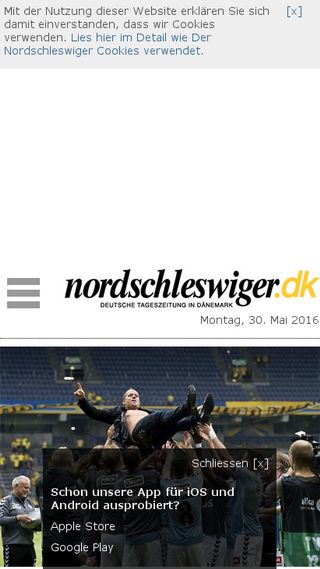 Mobile preview of nordschleswiger.dk