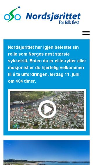 Mobile preview of nordsjorittet.no