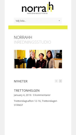 Mobile preview of norrahh.se