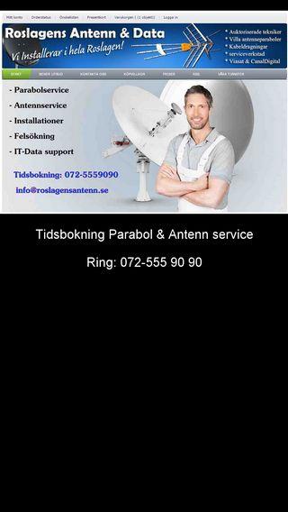 Mobile preview of norrtalje-parabol.nu
