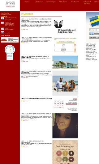Mobile preview of noscasi.se