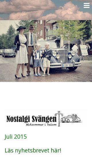 Mobile preview of nostalgisvangen.se