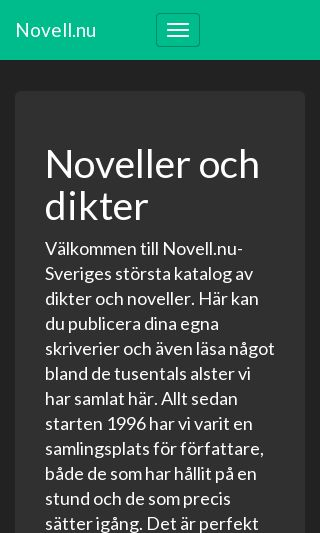 Mobile preview of novell.nu
