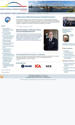 Mobile preview of nshk.se