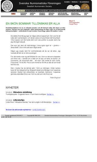 Mobile preview of numismatik.se