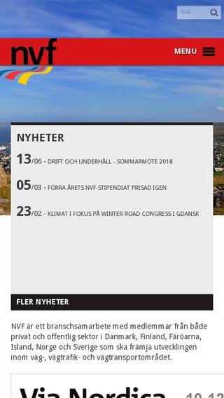 Mobile preview of kvf.dk