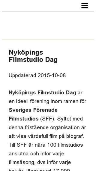 Mobile preview of nykopingsfilmstudiodag.n.nu