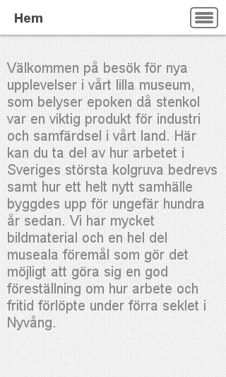 Mobile preview of nyvangsgruva.se