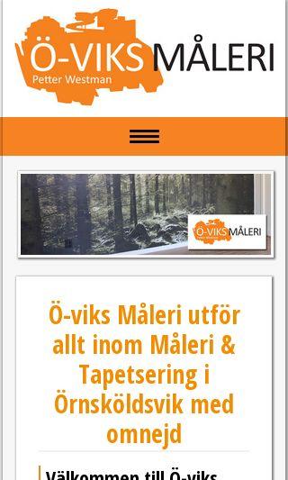 Mobile preview of o-viksmaleri.se
