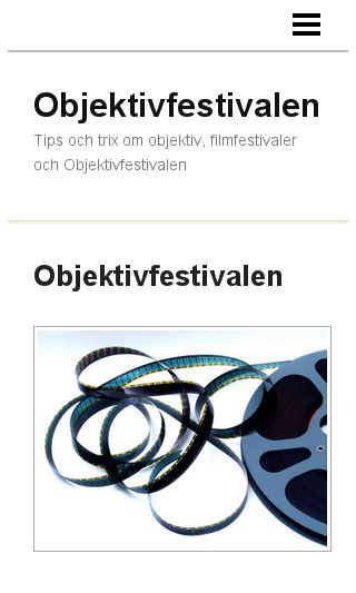 Mobile preview of objektivfestivalen.se