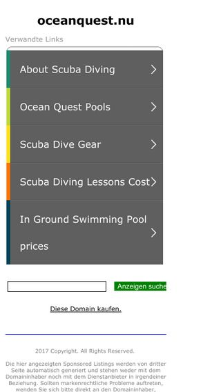 Mobile preview of oceanquest.nu