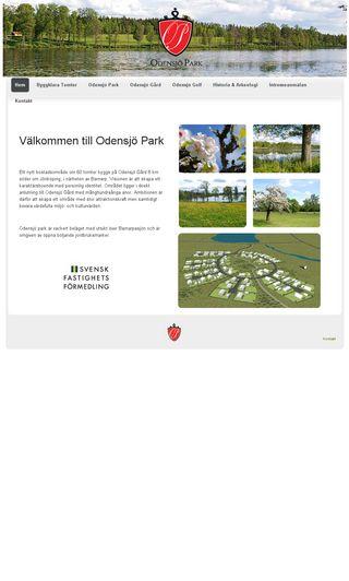Mobile preview of odensjopark.se