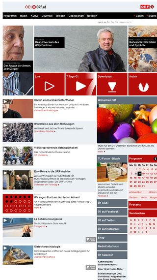 Mobile preview of oe1.orf.at