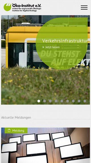 Mobile preview of oeko.de
