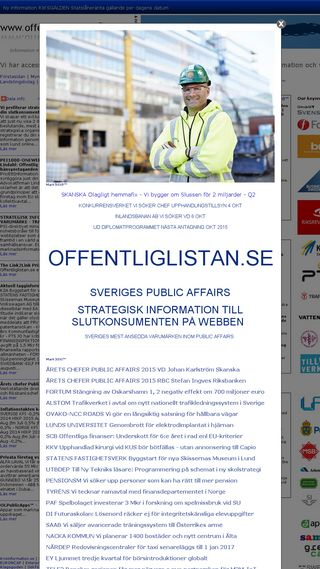 Mobile preview of offentliglistan.se
