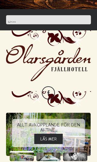 Mobile preview of olarsgarden.se