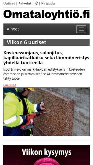 Mobile preview of omataloyhtio.fi