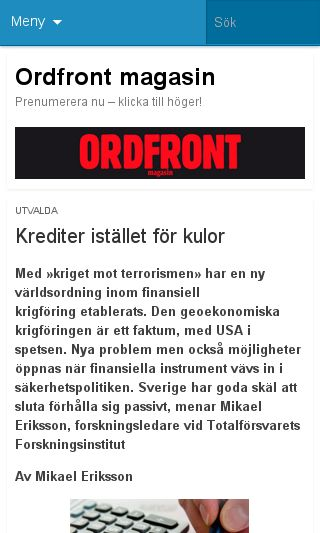 Mobile preview of omlinemagasin.se