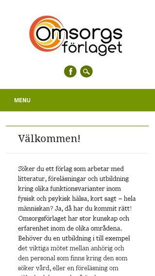 Mobile preview of omsorgsforlaget.se