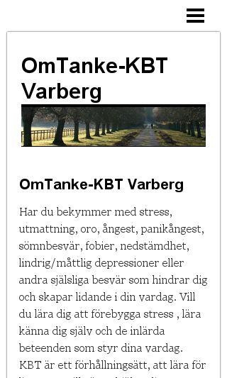 Mobile preview of omtanke-kbt.se