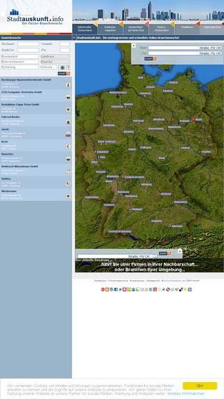 Mobile preview of online-stadtplan.de